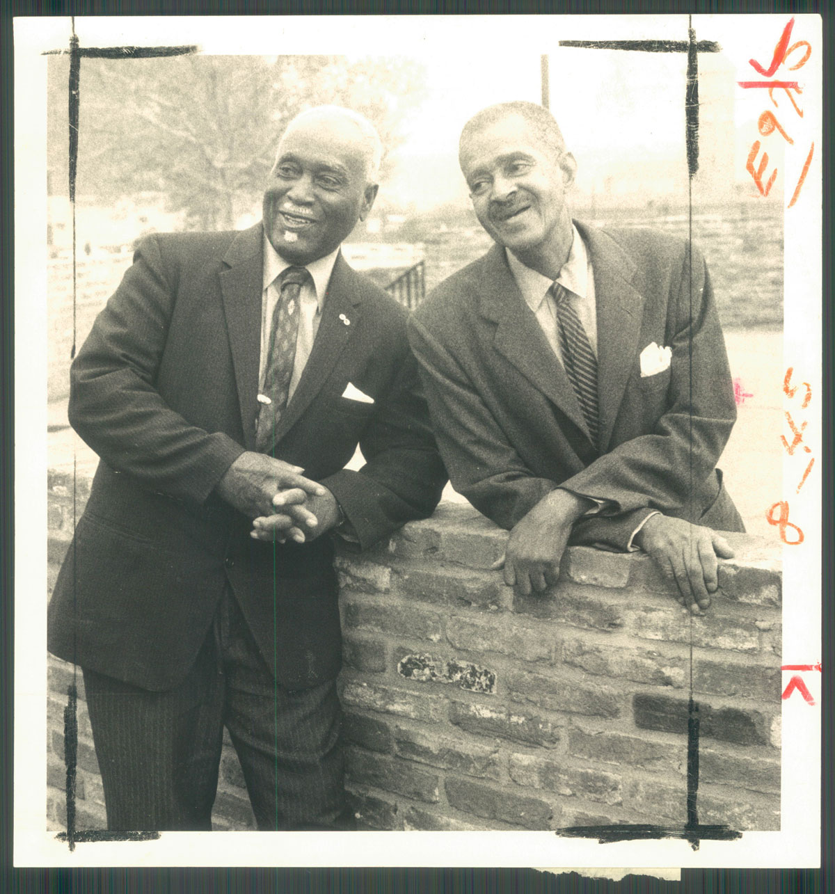 Edward William Parago, Sr. (1898-1983), and William Gailes Contee (1891-1987).